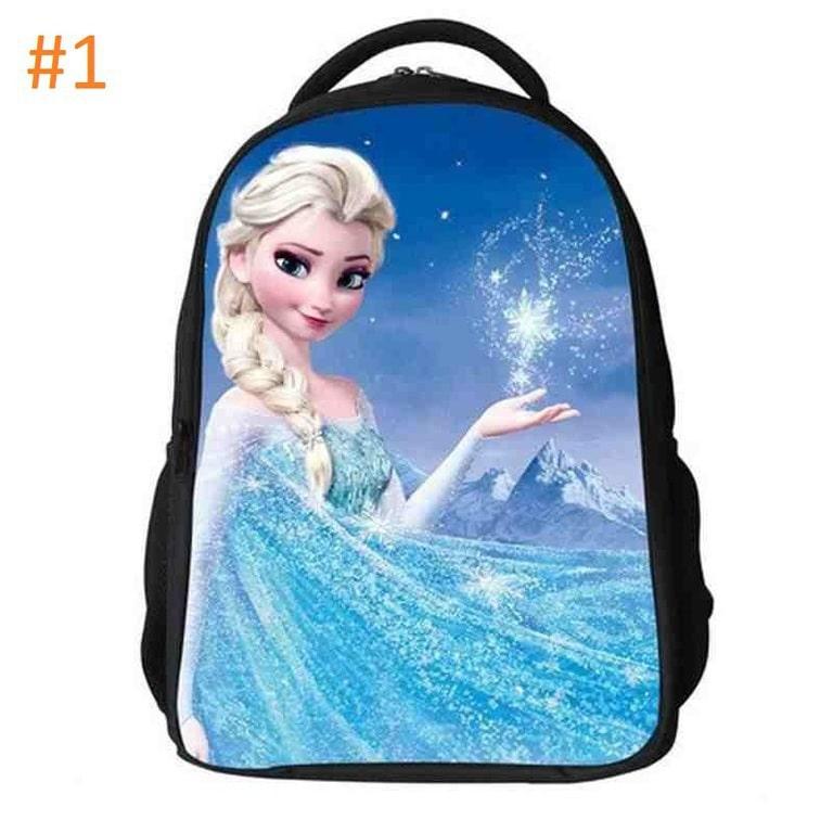 1ef017b266d Σχολική Τσάντα 2 θήκες Disney Frozen Elsa 1 – Plus Eshop