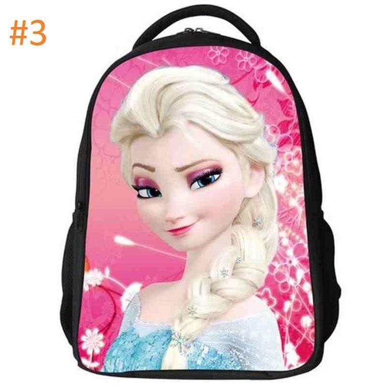 05ce514211 Σχολική Τσάντα 2 θήκες Disney Frozen Elsa 3