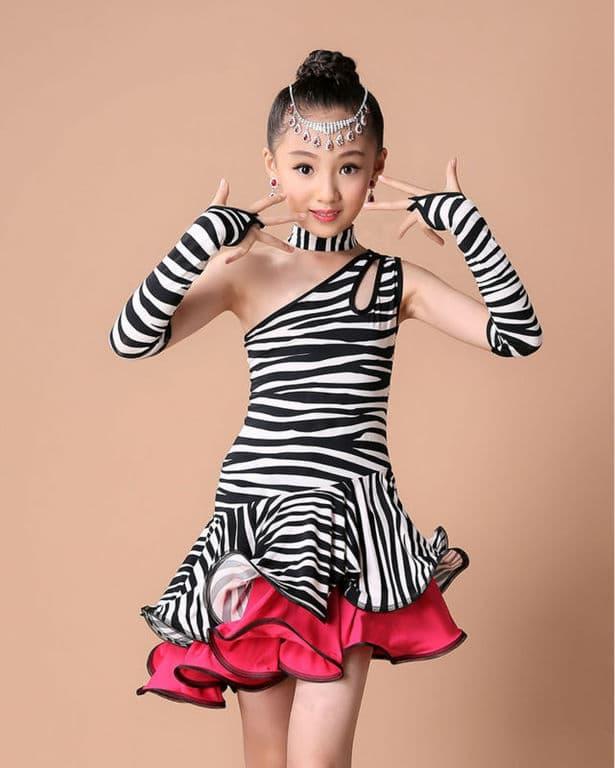 Παιδική Latin Στολή χορού L19 – Plus Eshop fe66ca0712c