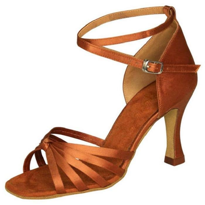 Παπούτσια Latin κόμπος 8,5 cm τακούνι-σε 5 χρώματα | Plus Eshop