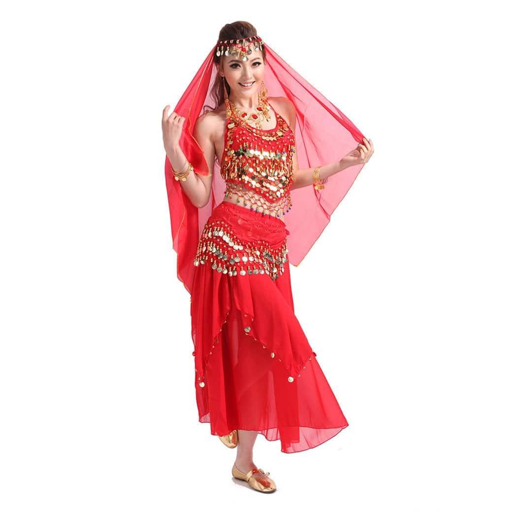 7397fb2930d2 Γυναικεία Oriental με φούστα Στολή χορού L32 – Plus Eshop