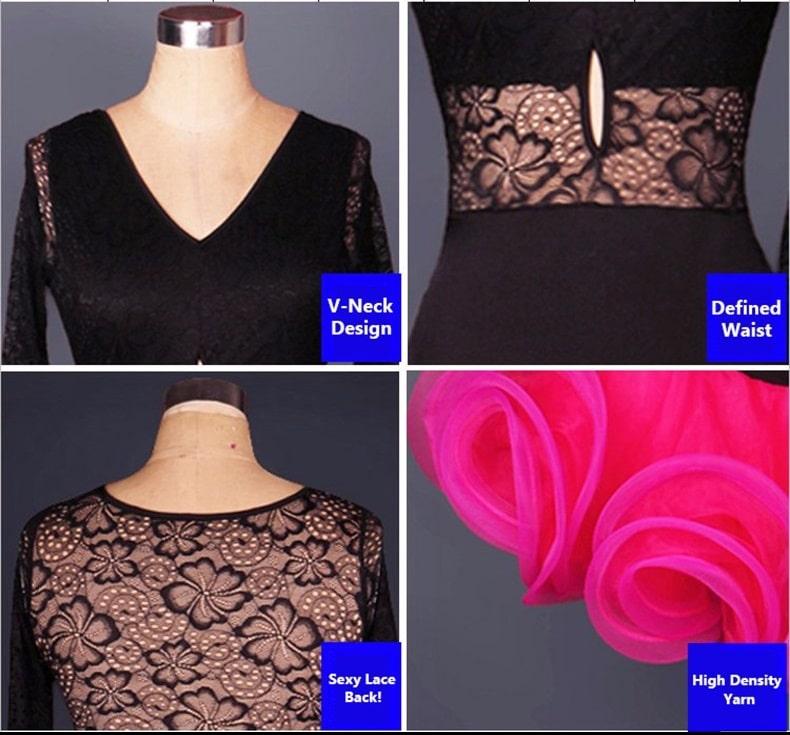 d742928fa09 Γυναικείο φόρεμα Latin χορού L36 – Plus Eshop